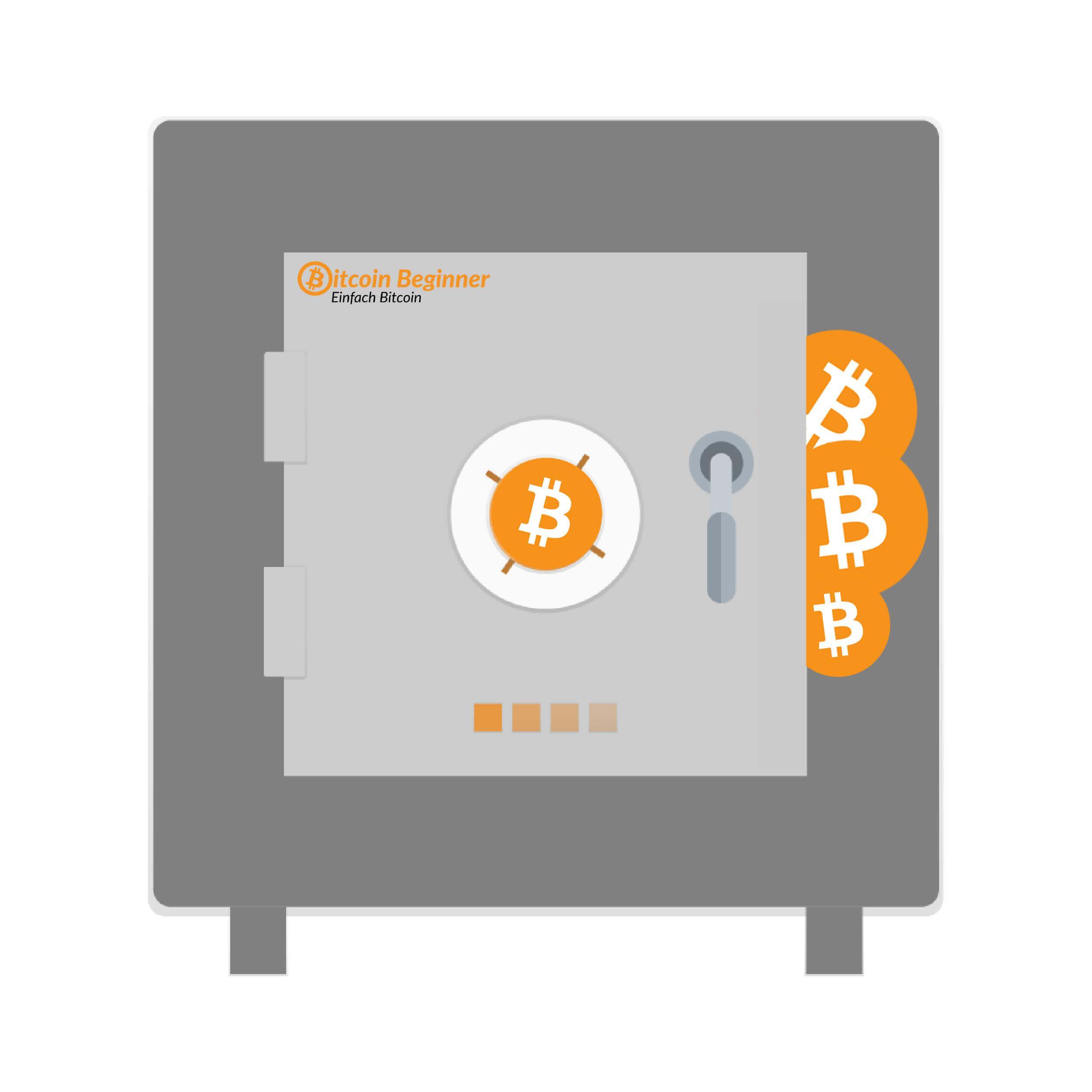 Bitcoins Sichern